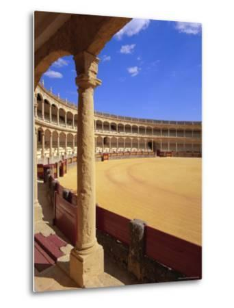 Plaza De Toros (Bull Ring) Dating from 1785, Ronda, Andalucia (Andalusia), Spain, Europe-Gavin Hellier-Metal Print