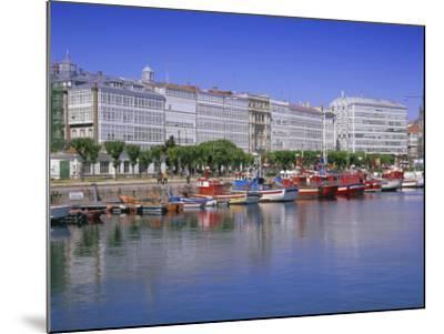 Colourful Boats in Port, La Coruna, Galicia, Spain, Europe-Gavin Hellier-Mounted Photographic Print