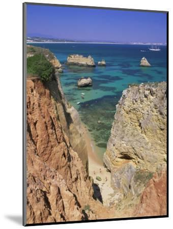 Beaches Near Lagos, Algarve, Portugal, Europe-Gavin Hellier-Mounted Photographic Print