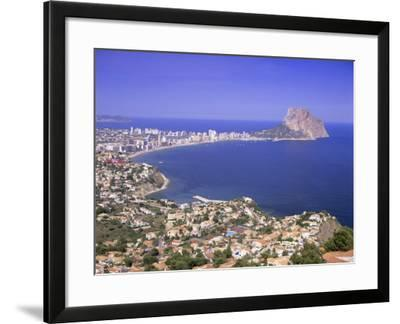 Giant Sea Rock, Penon De Ifach, Calpe, Costa Blanca, Valencia, Spain, Europe-Gavin Hellier-Framed Photographic Print