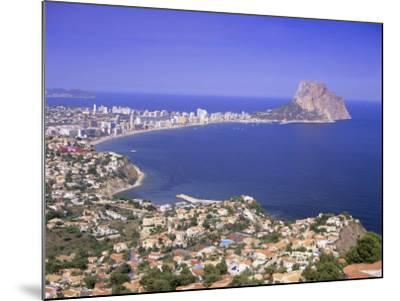 Giant Sea Rock, Penon De Ifach, Calpe, Costa Blanca, Valencia, Spain, Europe-Gavin Hellier-Mounted Photographic Print