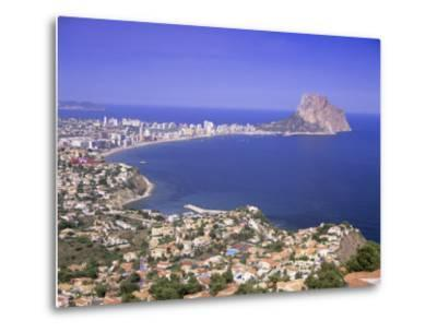 Giant Sea Rock, Penon De Ifach, Calpe, Costa Blanca, Valencia, Spain, Europe-Gavin Hellier-Metal Print