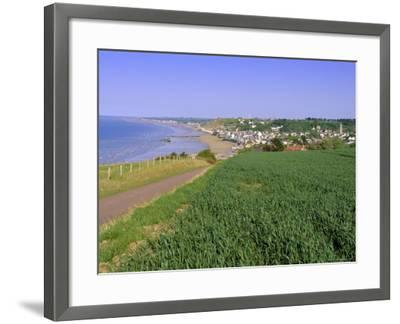 D-Day Beach, Arromanches, Normandie (Normandy), France, Europe-Gavin Hellier-Framed Photographic Print