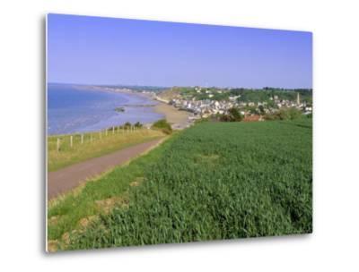 D-Day Beach, Arromanches, Normandie (Normandy), France, Europe-Gavin Hellier-Metal Print
