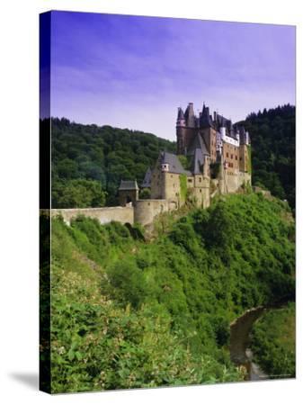 Burg Eltz, Near Cochem, Rhineland-Palatinate, Germany, Europe-Gavin Hellier-Stretched Canvas Print
