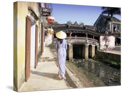 Japanese Covered Bridge, Hoi An, Central Vietnam, Vietnam, Indochina, Southeast Asia, Asia-Gavin Hellier-Stretched Canvas Print