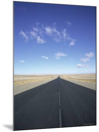 Long Straight Road in Patagonia, Patagonia, Argentina, South America-Gavin Hellier-Mounted Photographic Print