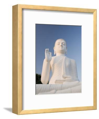 Great Seated Figure of the Buddha, Mihintale, Sri Lanka, Asia-Gavin Hellier-Framed Photographic Print