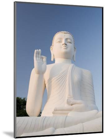Great Seated Figure of the Buddha, Mihintale, Sri Lanka, Asia-Gavin Hellier-Mounted Photographic Print