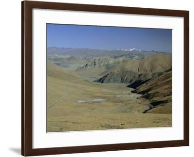 Approach to Mount Everest, Tingri, Tibet, China, Asia-Gavin Hellier-Framed Photographic Print