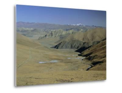 Approach to Mount Everest, Tingri, Tibet, China, Asia-Gavin Hellier-Metal Print