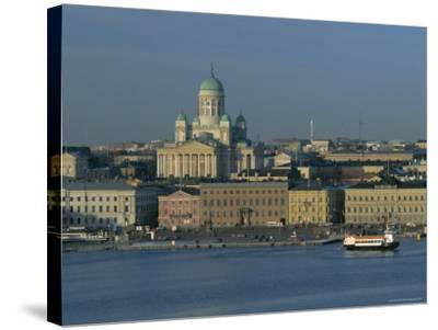 City Skyline, Helsinki, Finland, Scandinavia, Europe-Gavin Hellier-Stretched Canvas Print
