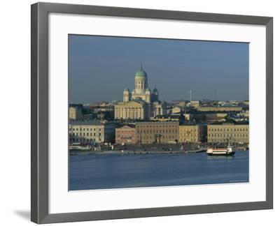 City Skyline, Helsinki, Finland, Scandinavia, Europe-Gavin Hellier-Framed Photographic Print