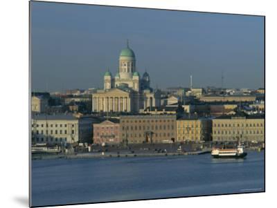 City Skyline, Helsinki, Finland, Scandinavia, Europe-Gavin Hellier-Mounted Photographic Print