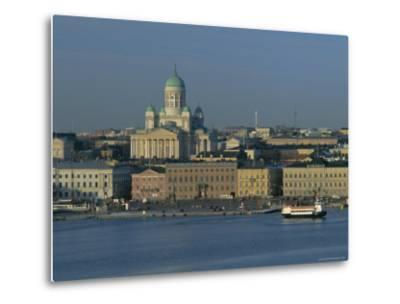 City Skyline, Helsinki, Finland, Scandinavia, Europe-Gavin Hellier-Metal Print