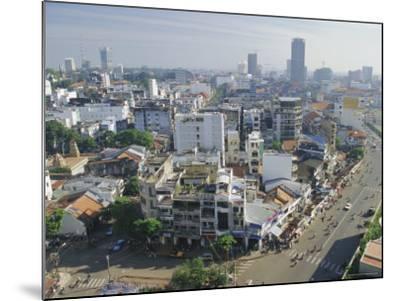 Skyline and Modern Construction, Ho Chi Minh City (Saigon), Vietnam, Indochina, Asia-Gavin Hellier-Mounted Photographic Print