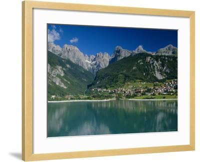 Molveno, Brenta Dolomites, Alto Adige, Italy, Europe-Gavin Hellier-Framed Photographic Print