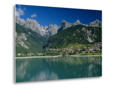 Molveno, Brenta Dolomites, Alto Adige, Italy, Europe-Gavin Hellier-Metal Print