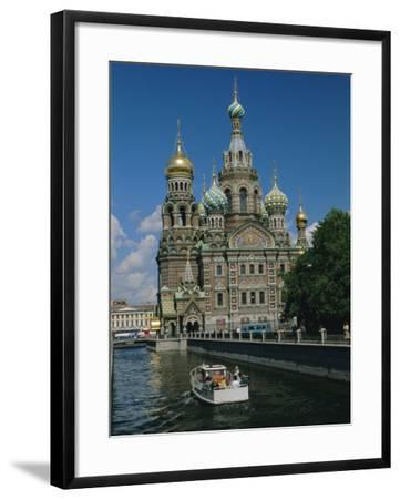 Church of the Resurrection (Or Spilt Blood), St. Petersburg, Russia-Gavin Hellier-Framed Photographic Print