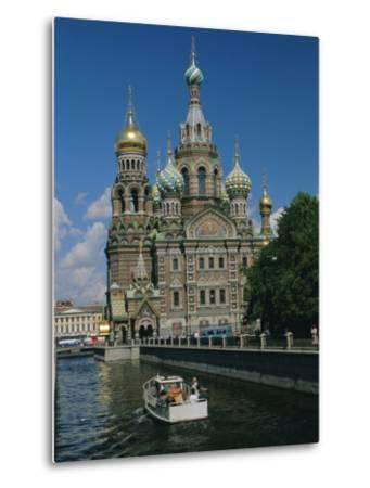 Church of the Resurrection (Or Spilt Blood), St. Petersburg, Russia-Gavin Hellier-Metal Print