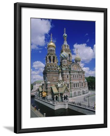 Church of the Resurrection (Church on Spilled Blood), St. Petersburg, Russia, Europe-Gavin Hellier-Framed Photographic Print