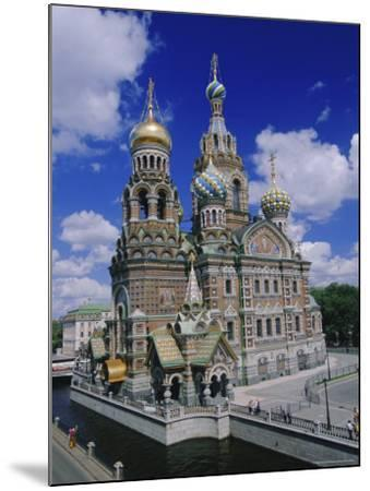 Church of the Resurrection (Church on Spilled Blood), St. Petersburg, Russia, Europe-Gavin Hellier-Mounted Photographic Print