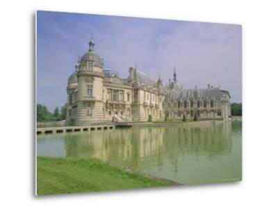 Chateau De Chantilly, Chantilly, Oise, France, Europe-Gavin Hellier-Metal Print