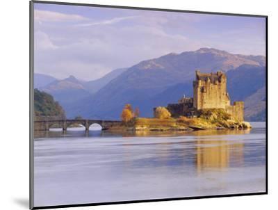 Eilean Donan (Eilean Donnan) Castle, Dornie, Highlands Region, Scotland, UK, Europe-Gavin Hellier-Mounted Photographic Print