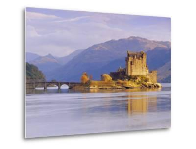 Eilean Donan (Eilean Donnan) Castle, Dornie, Highlands Region, Scotland, UK, Europe-Gavin Hellier-Metal Print