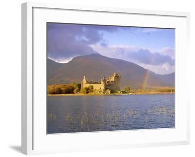 Kilchurn Castle and Loch Awe, Highlands Region, Scotland, UK, Europe-Gavin Hellier-Framed Photographic Print