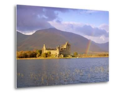 Kilchurn Castle and Loch Awe, Highlands Region, Scotland, UK, Europe-Gavin Hellier-Metal Print