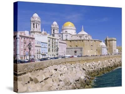 Cadiz Cathedral, Cadiz, Andalucia, Spain-Gavin Hellier-Stretched Canvas Print