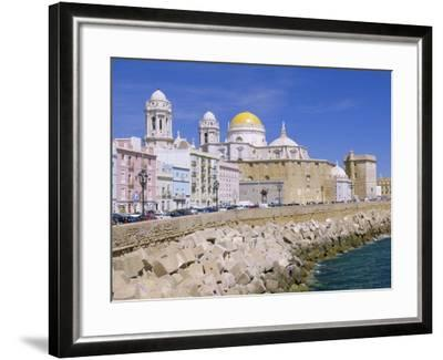 Cadiz Cathedral, Cadiz, Andalucia, Spain-Gavin Hellier-Framed Photographic Print