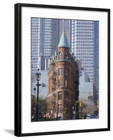 Old and New Buildings in the Downtown Financial District, Toronto, Ontario, Canada, North America-Anthony Waltham-Framed Photographic Print
