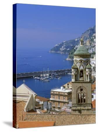 Amalfi, Costiera Amalfitana (Amalfi Coast), Unesco World Heritage Site, Campania, Italy, Europe-G Richardson-Stretched Canvas Print
