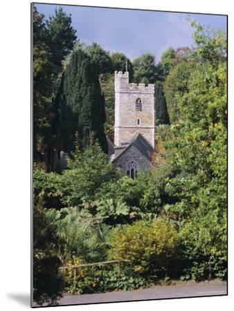 Church, St. Just in Roseland, Cornwall, England, UK-G Richardson-Mounted Photographic Print