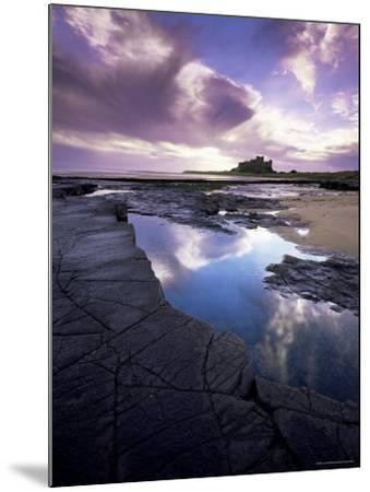 Bamburgh Castle at Dawn, Northumberland, England, United Kingdom, Europe-Lee Frost-Mounted Photographic Print