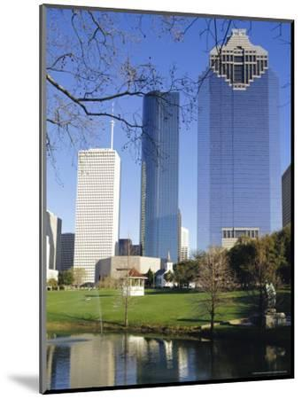 Skyscrapers, Houston, Texas, USA-Charles Bowman-Mounted Photographic Print