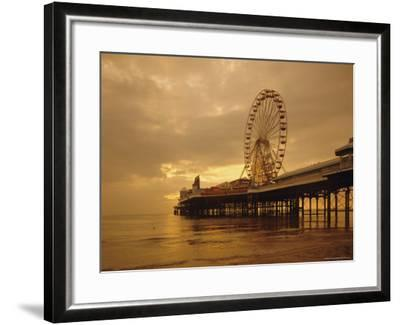 The Pier, Blackpool, Lancashire, England, UK, Europe-Charles Bowman-Framed Photographic Print