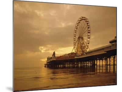The Pier, Blackpool, Lancashire, England, UK, Europe-Charles Bowman-Mounted Photographic Print