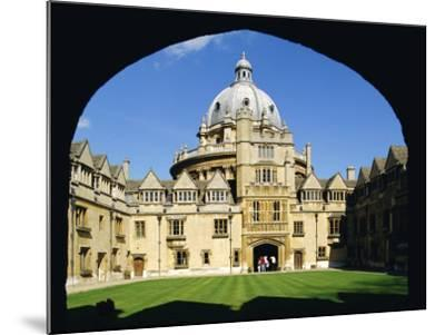 Brasenose College, Oxford University, Oxford, Oxfordshire, England, UK, Europe-Charles Bowman-Mounted Photographic Print