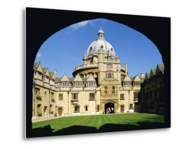 Brasenose College, Oxford University, Oxford, Oxfordshire, England, UK, Europe-Charles Bowman-Metal Print