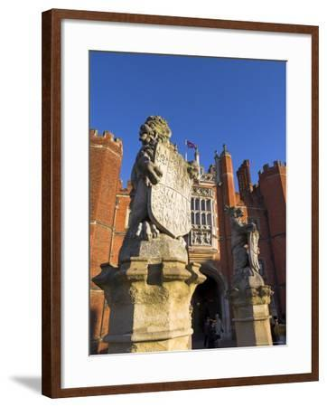Hampton Court, Surrey, England, UK, Europe-Charles Bowman-Framed Photographic Print