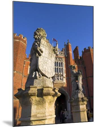Hampton Court, Surrey, England, UK, Europe-Charles Bowman-Mounted Photographic Print