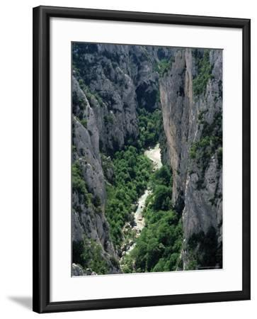 Grand Canyon of the Verdon River, Alpes-De-Haute-Provence, Provence, France, Europe-Ruth Tomlinson-Framed Photographic Print