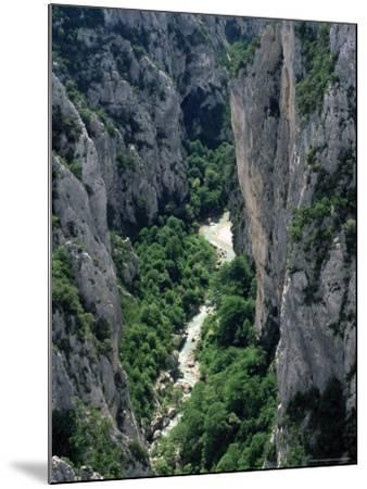 Grand Canyon of the Verdon River, Alpes-De-Haute-Provence, Provence, France, Europe-Ruth Tomlinson-Mounted Photographic Print