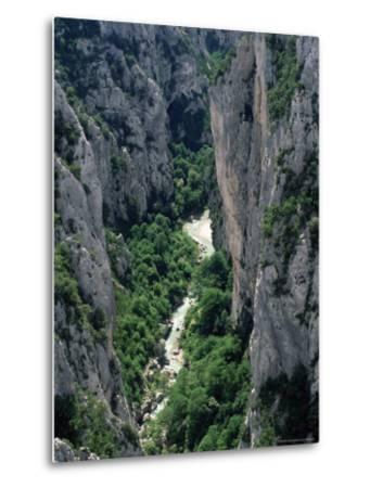Grand Canyon of the Verdon River, Alpes-De-Haute-Provence, Provence, France, Europe-Ruth Tomlinson-Metal Print