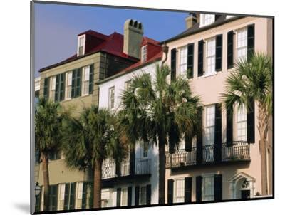 Early 19th Century Town Houses, Charleston, South Carolina, USA-Duncan Maxwell-Mounted Photographic Print