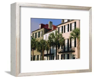 Early 19th Century Town Houses, Charleston, South Carolina, USA-Duncan Maxwell-Framed Photographic Print