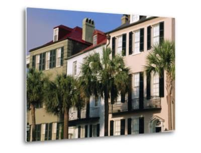 Early 19th Century Town Houses, Charleston, South Carolina, USA-Duncan Maxwell-Metal Print